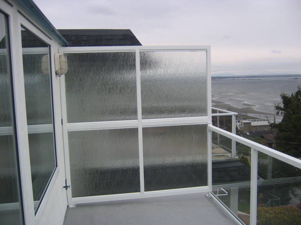Another success deckpros for Outdoor glass wall panels