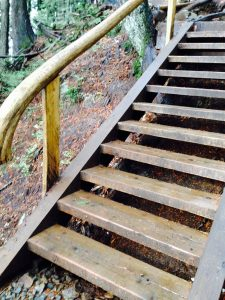 Grouse Grind Stairs